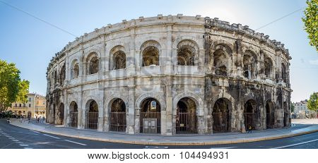 Ancient Roman Theatre (arena) Of Nimes