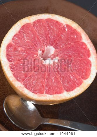 Pink Grapefruit Serving