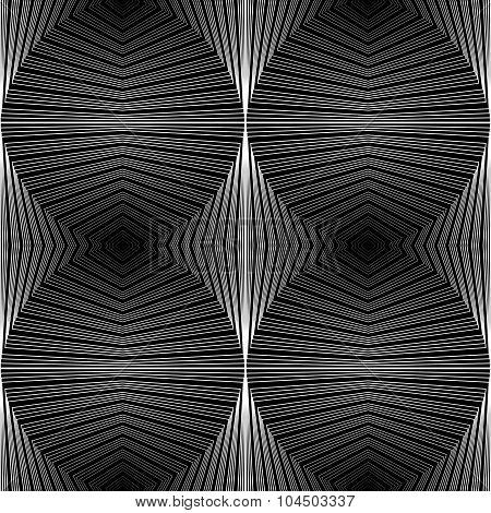 Design Seamless Ellipse Geometric Pattern
