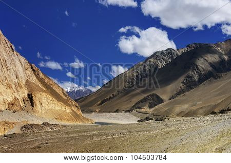 Mountains Of Ladakh, Jammu And Kashmir, India