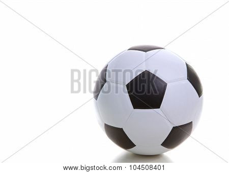 Soccer Football On White Background