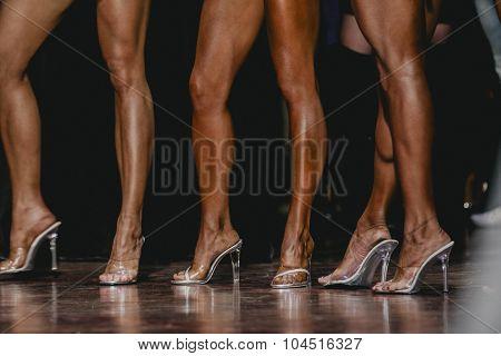 slender legs