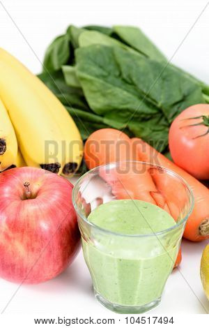 Fruit And Vegetable Smoothies.
