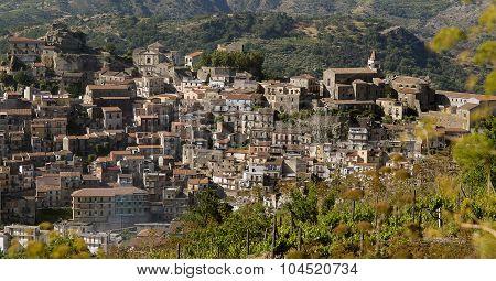 Castiglione Di Sicilia In The Territory Of Wine Of Etna