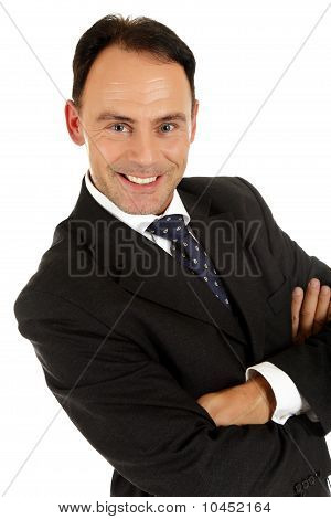 Middle Aged Caucasian Businessman