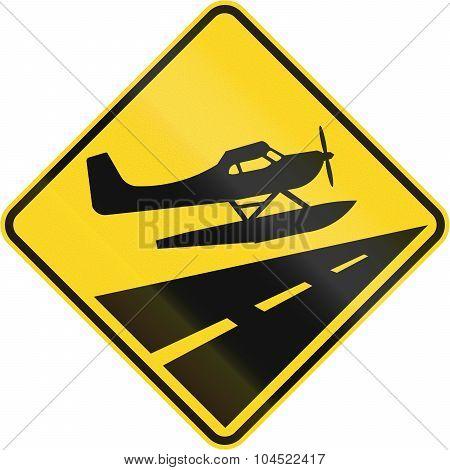 Low Flying Propeller Planes In Canada