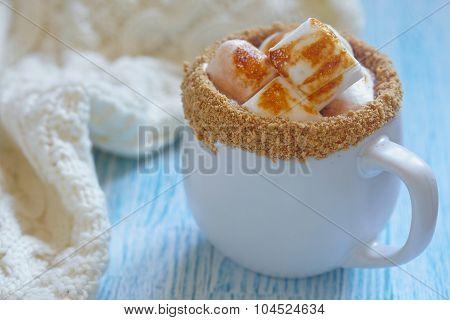 Smores hot chocolate