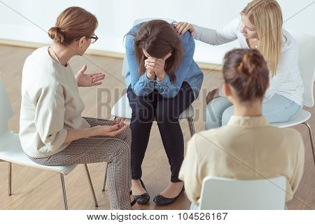 Crying During Group Therapy