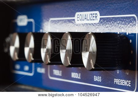 Equalizer Settings On The Amp