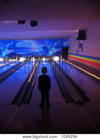 Boy Bowling