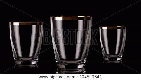 Champagne crystal buckets