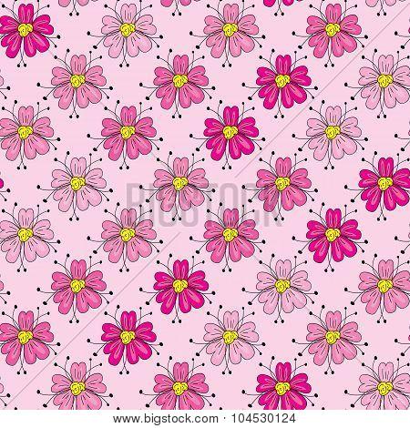 Floral Seamles Pattern