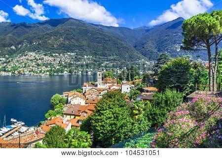beautiful villages of Lago di Como - Blevio. North of Italy