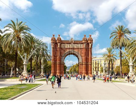 Barcelona. Triumphal Arch.