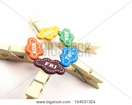 Wooden Paper Clips, Stationery, School And Office Supplies