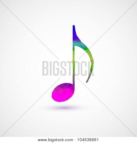notes abstract musical background easy editable