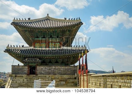 Korean traditional fortress