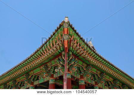Korean traditional building