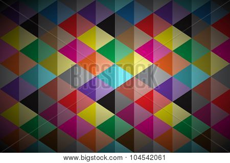 Simple colored abstract vector background