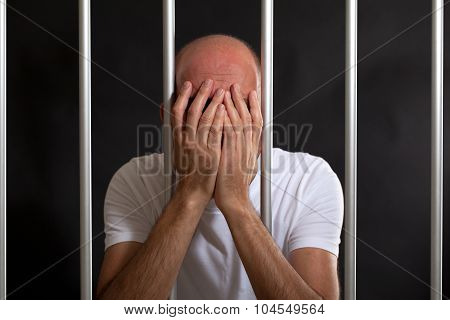 Man distressed in jail