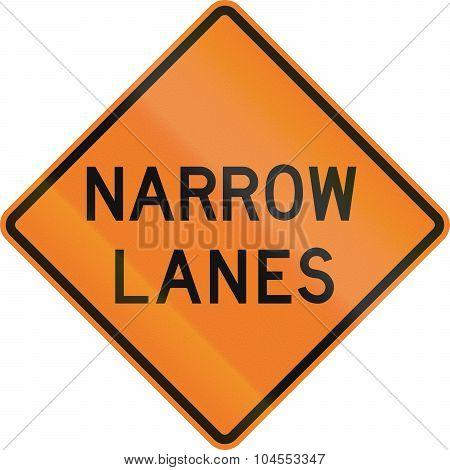 Narrow Lanes In Canada