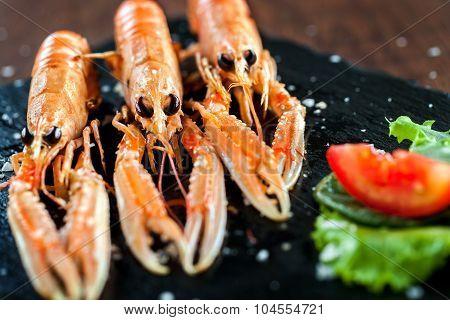Appetizing Crawfish Platter.