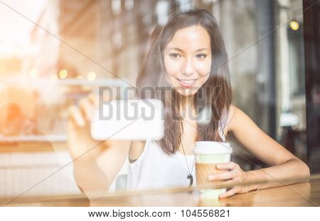 Woman In A Bar