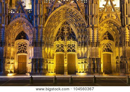 Cathedral Of Tours, Indre-et-loire, France