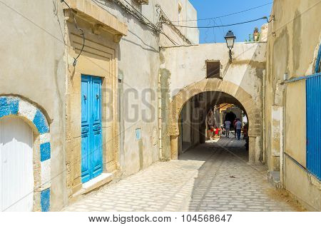 The Street With Arch