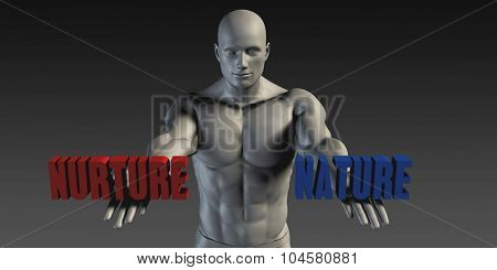 Nature or Nurture as a Versus Choice of Different Belief