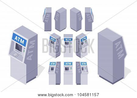 Isometric ATMs