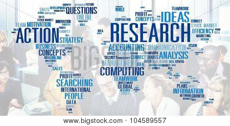 Research Study Report Response Result Concept