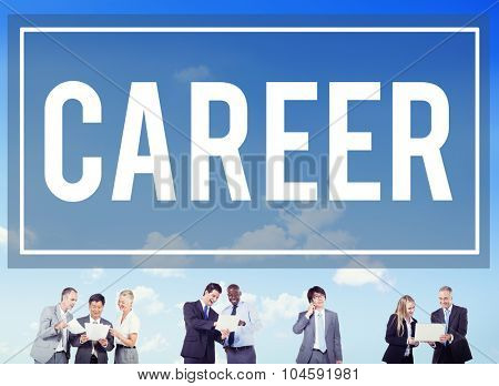 Career Hiring Occupation Profession Job Concept