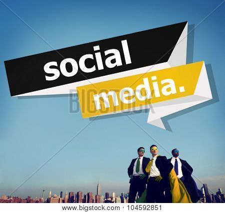 Social Media Communication Internet Network Concept