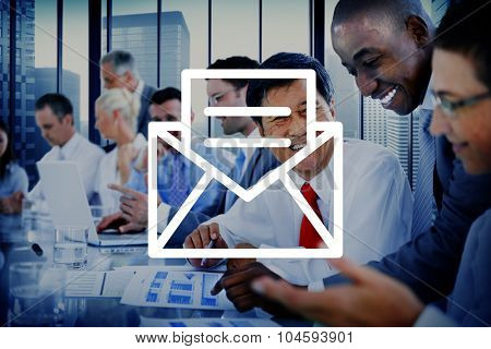 Email Message Icon Communication Letter Concept