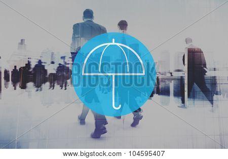 Umbrella Weather Protection Environment Shielding Concept