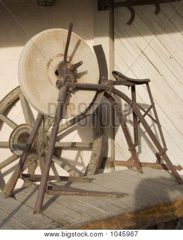 Old Pioneer Era Grindstone
