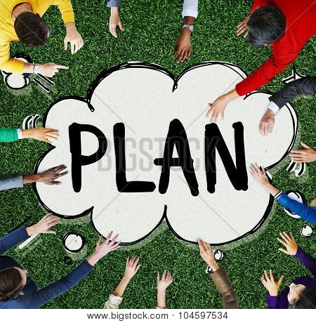 Plan Vision Planning Thinking Strategy Concept