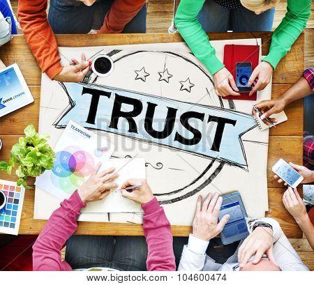 Trust Belief Faithfulness Honest Honorable Concept