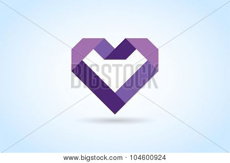 Heart icons vector logo. Heart logo heart shape. Togetherness concept. Together logo. Heart logo. Love health doctor relations. Heart logo heart together. Family children, baby mother,union,charity