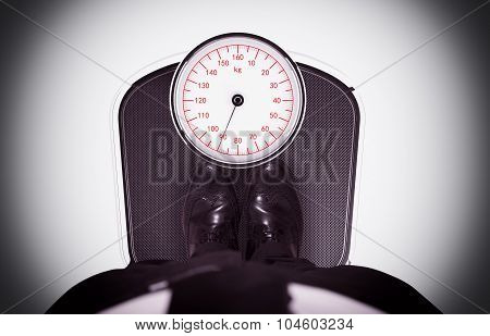 Weight on the scale
