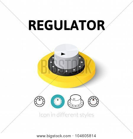 Regulator icon in different style