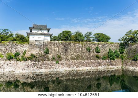 Turret of the osaka castle