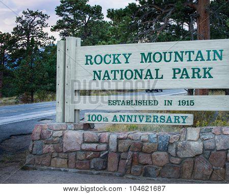 Rocky Mountain Entrance