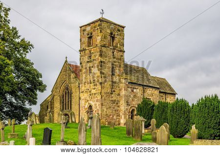 Kirk Hammerton church, North Yorkshire.