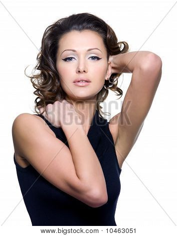 Portrait Of A Beautiful Adult Sexy Woman
