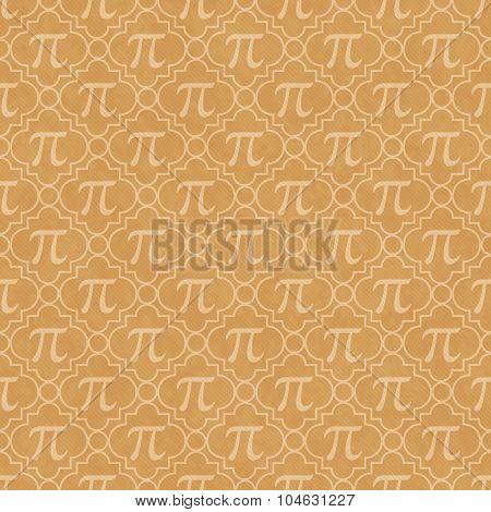 Orange Pi Symbol Design Tile Pattern Repeat Background