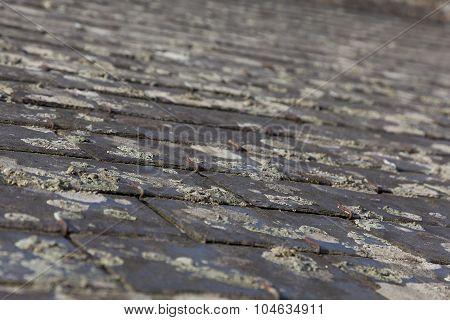 Roofs Of Souzay-champigny,  Maine-et-loire, Pays De La Loire, France