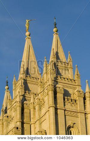 Salt Lake Temple Angel Moroni