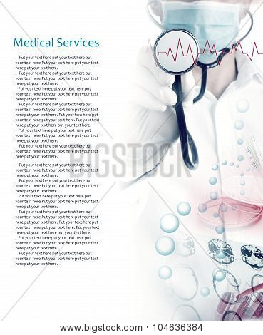 Medical Services Photo Collage